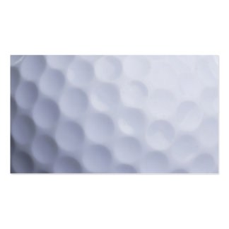 Golf Ball Background Customized Template Pack Of Standard Business Cards