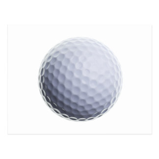 Golf Ball Background Customized Template Post Card