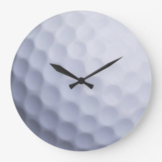 Golf Ball Background Customized Template Wallclocks
