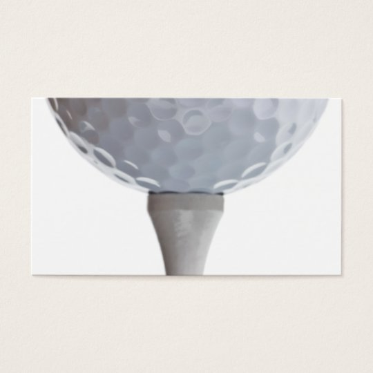 Golf Ball Background - Golfing Sports Template Business