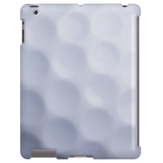Golf Ball Background - Golfing Sports Template iPad Case