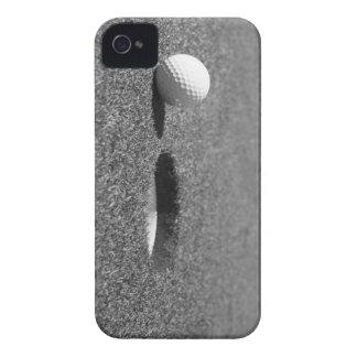 Golf Ball beside hole iPhone 4 Case