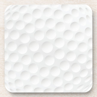 golf ball beverage coasters