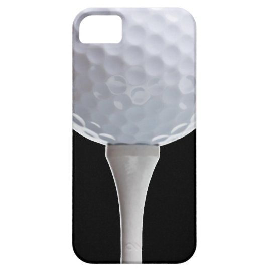 Golf Ball Black Background Golfing Sports Template Case For The iPhone 5