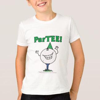 Golf Ball Character ParTEE! T-Shirt