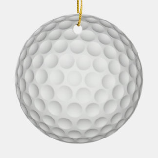 Golf Ball Christmas Ornament