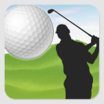 Golf Ball Coming at You