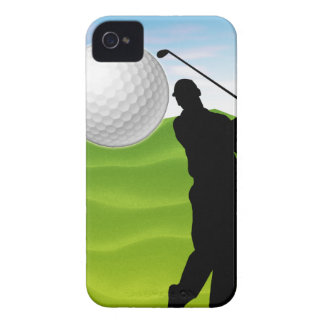 Golf Ball Coming at You iPhone 4 Case