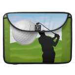 Golf Ball Coming at You Sleeve For MacBook Pro