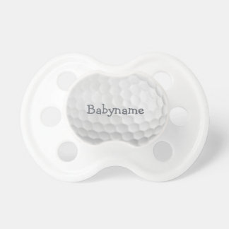 Golf Ball custom pacifier