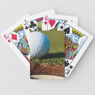 Golf Ball Custom Playing Cards