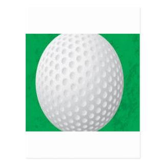 Golf Ball design Post Cards