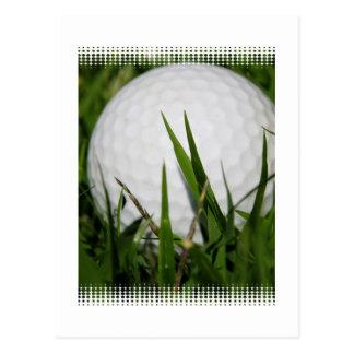 Golf Ball Design Postcard