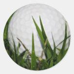Golf Ball Design Sticker