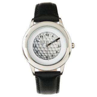 """""""Golf Ball"""" design wrist watches"""