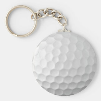 Golf Ball Dimples Texture Pattern 2 Key Ring