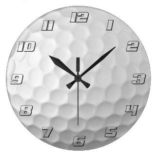 Golf Ball Dimples Texture Pattern 2 Wallclocks