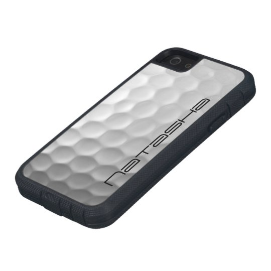 Golf Ball Dimples Texture Pattern Personalised iPhone 5 Case