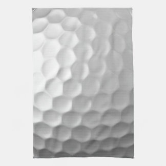 Golf Ball Dimples Texture Pattern Tea Towel