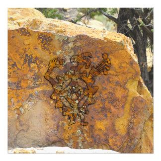 Golf Ball Eater Petroglyph Photo Print