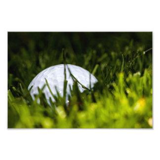 golf ball hiding remix art photo