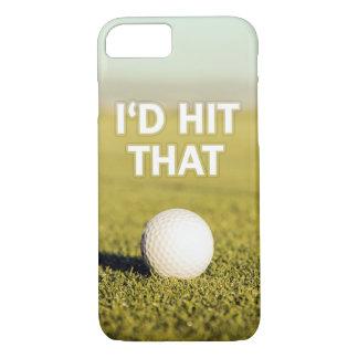 Golf ball I'd Hit That iPhone 7 Case