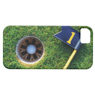 golf ball in hole iPhone 5 covers