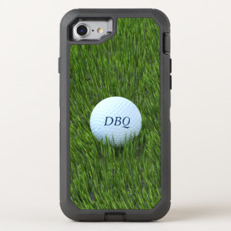 Golf Ball In the Rough Personalized OtterBox Defender iPhone 8/7 Case