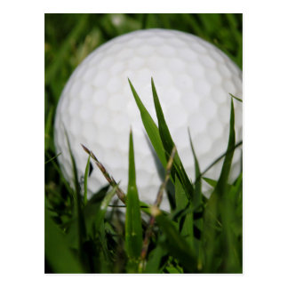 Golf Ball In The Rough Postcard
