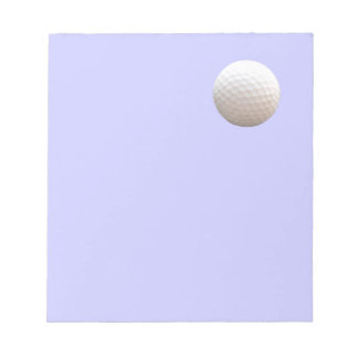 Golf Ball in the Sky Notepad