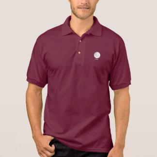 Golf Ball Logo Polo Shirt