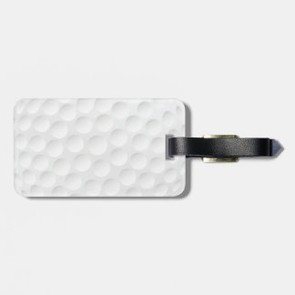 golf ball luggage tag