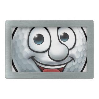 Golf Ball Mascot Belt Buckles