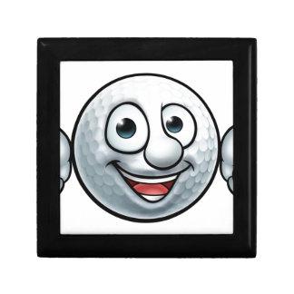 Golf Ball Mascot Gift Box