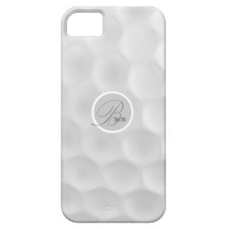 Golf Ball Monogram B iphone 5 Case