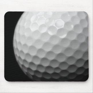 golf ball mouse mat