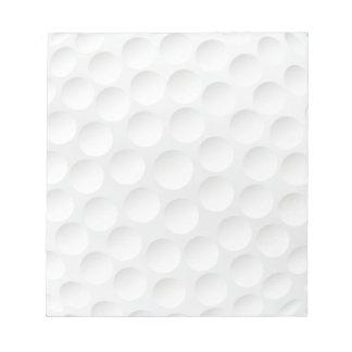 golf ball notepads