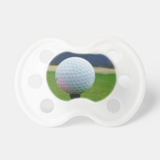 Golf Ball on a mountain golf course Baby Pacifiers