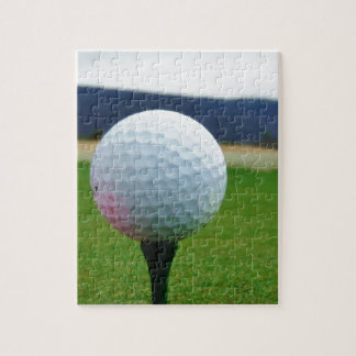 Golf Ball on a mountain golf course Jigsaw Puzzle