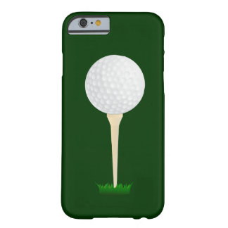 Golf Ball on a Tee Barely There iPhone 6 Case