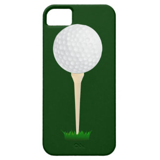 Golf Ball on a Tee iPhone 5 Cover