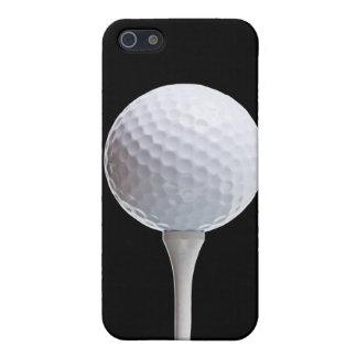 Golf Ball on Black - Customized Template Case For iPhone 5/5S