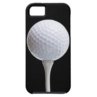 Golf Ball on Black - Customized Template Case For The iPhone 5