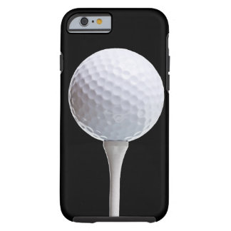 Golf Ball on Black - Customized Template Tough iPhone 6 Case
