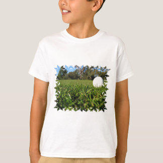 Golf Ball on Golf Course Youth T-Shirt