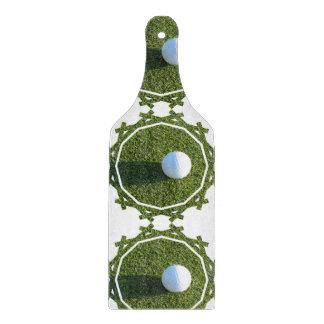 Golf Ball on Golf Green Cutting Board