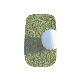 Golf Ball on Golf Green Minx ® Nail Wraps