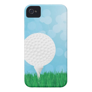 golf ball on grass Case-Mate iPhone 4 case