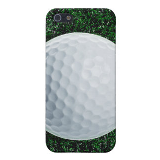 Golf ball on grass iPhone 5/5S case