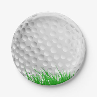 how to draw a golf ball on paper
